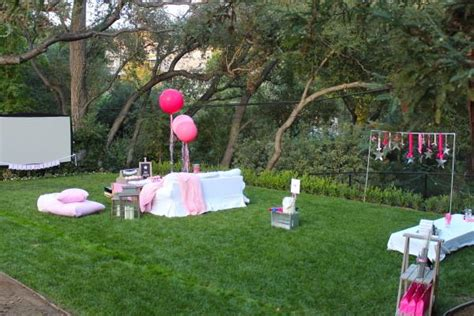 planning a backyard party under the stars tween teen outdoor birthday party planning