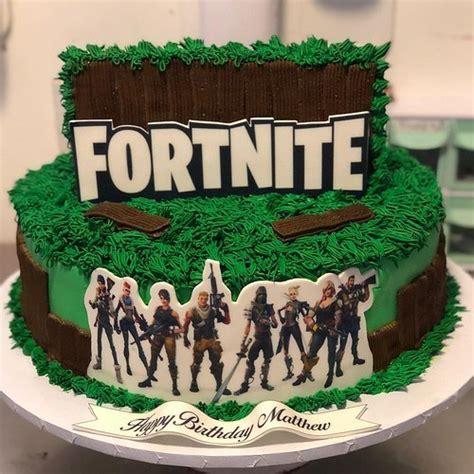 disenos de tortas de fortnite pasteles de fortnite
