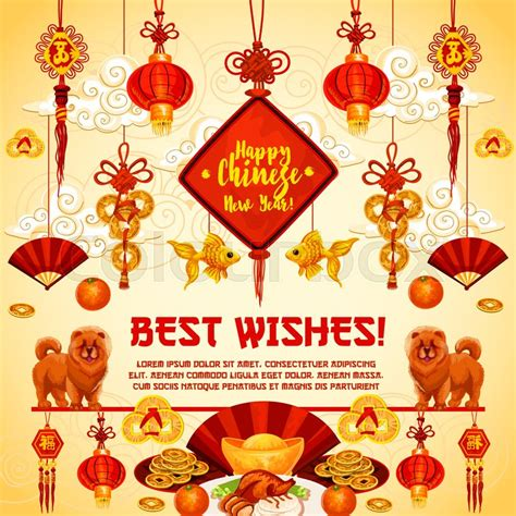new year traditional greetings happy new year best wish greeting card for