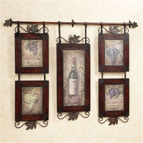 wall decor emilion wine wall