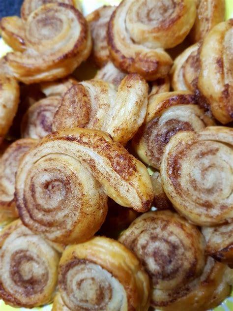 rabarbara kuchen zimtschnecken aus bl 228 tterteig mel chefkoch de
