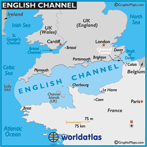 channel map channel map channel location facts major bodies of water world atlas