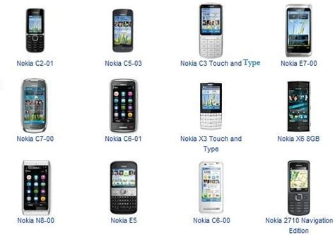 all mobile phones price list your favourite input method touch type or tell nokia