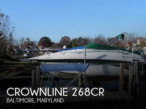 outboard motors for sale maryland for sale used 1999 crownline 268cr in baltimore maryland