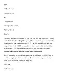 sample leave letter writing professional letters