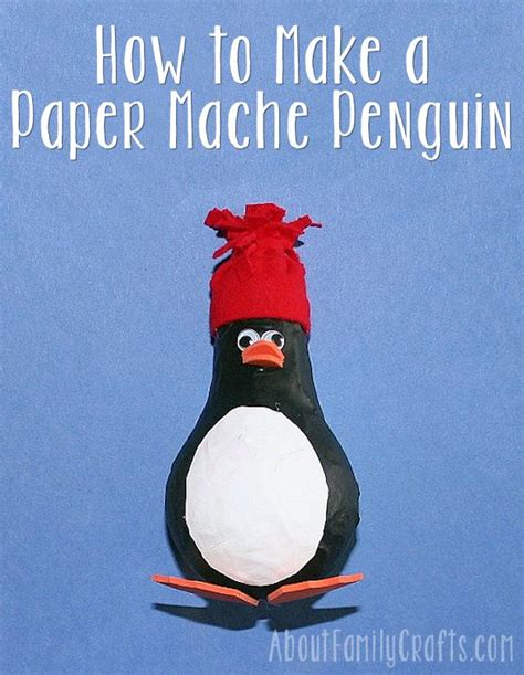 How Much Do You Make On A Paper Route - how to make a paper mache penguin about family crafts