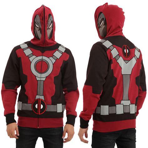 Hoodie Zipper Dead Pool Black deadpool hoodie