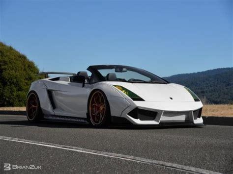 White Lamborghini Gallardo Convertible Find Used Lamborghini Gallardo Spyder Convertible 2 Door