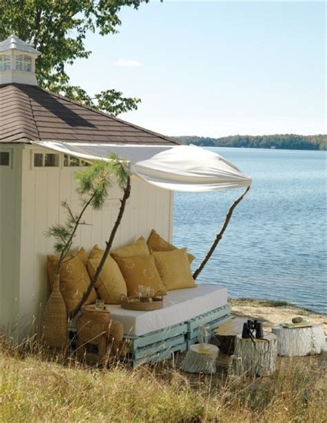 beach couch pallet sofa inexpensive seating arrangement ideas
