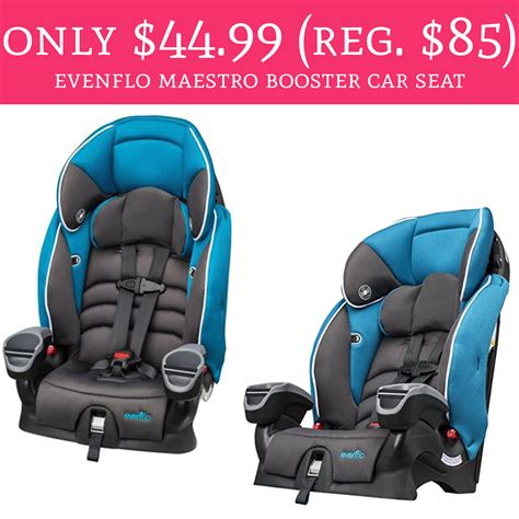 evenflo maestro booster car seat only 44 99 regular 85 evenflo maestro booster car seat