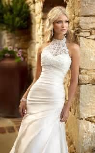 wedding dress halter best 25 halter wedding dresses ideas on