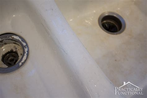 how to clean a black porcelain sink how to clean a porcelain sink including the stains and