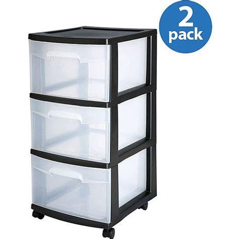 musical sterilite 3 drawer medium cart set of 2 was