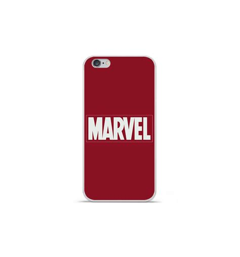 coque en silicone apple iphone 6 plus 6s plus marvel