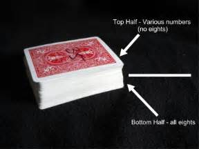 easy card magic trick the mind read and prediction