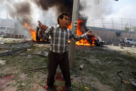 Kabul Bomb: Explosion Near German Embassy Kills Dozens ...