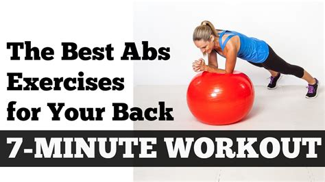 the best abs exercises for your back length 7 minute home workout