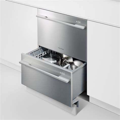double drawer dishwasher uk buy the fisher paykel dd60ddfhx7 double dishdrawer in