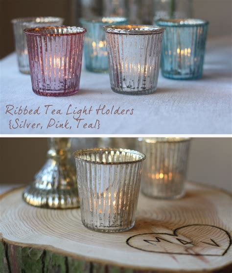 pink glass tea light holders pink wedding decorations the wedding of my dreamsthe