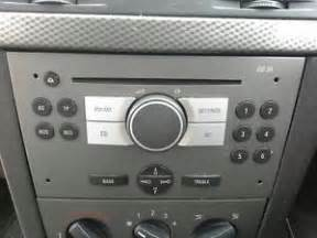 Vauxhall Meriva Radio 2007 Vauxhall Meriva Cd Cd30 Radio Stereo Unit 90 Day