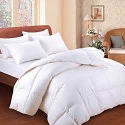 How To Wash A Goose Down Duvet Amazon Com Bedding White Feather Down Bed Comforter