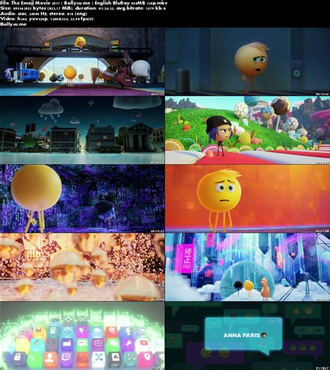 emoji full movie the emoji movie 2017 bluray 250mb full english movie