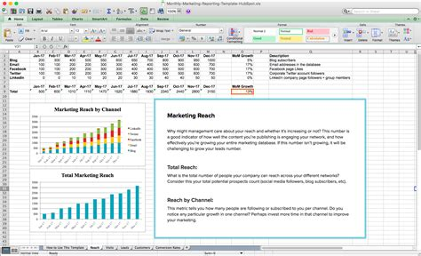 monthly marketing report sle monthly marketing reporting template free