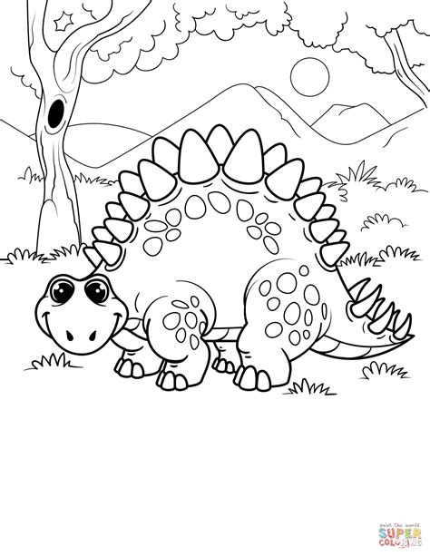 stegosaurus coloring page stegosaurus coloring page free printable coloring pages