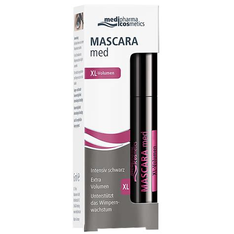 Mascara The Shop medipharma cosmetics mascara med volumen shop apotheke