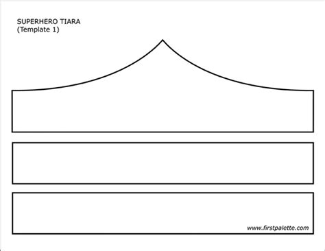 free printable tiara template tiara free printable templates coloring