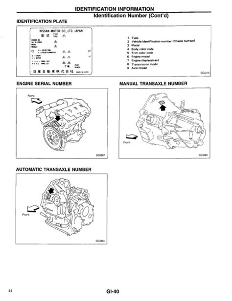 service and repair manuals 1999 nissan maxima interior lighting 1999 nissan maxima service repair manual
