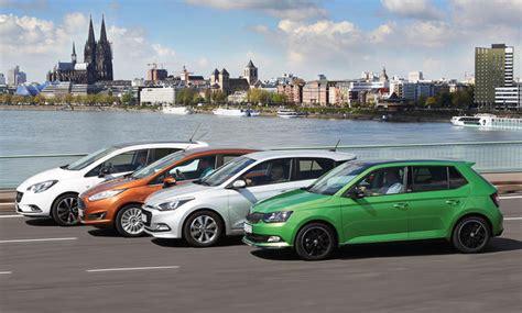 Auto Versicherung Kosten Opel Corsa by Fiesta I20 Corsa Fabia Test Kleinwagen Autozeitung De