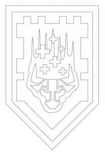 Nexo Lego Knights Coloring Pages Sketch Page sketch template