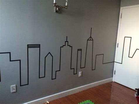 Boys Bedroom Painting Ideas decora 231 227 o com fita isolante 40 ideias geniais e descoladas
