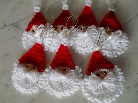 adornos navideos a crochet patrones de tejidos en crochet para manteles