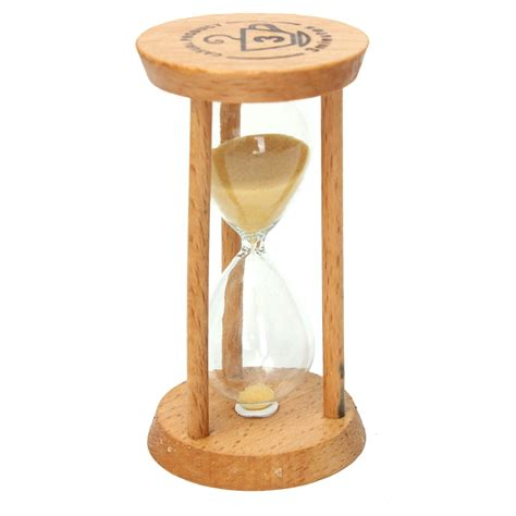 hourglass home decor 3 minutes wooden sand clock sandglass hourglass clock home