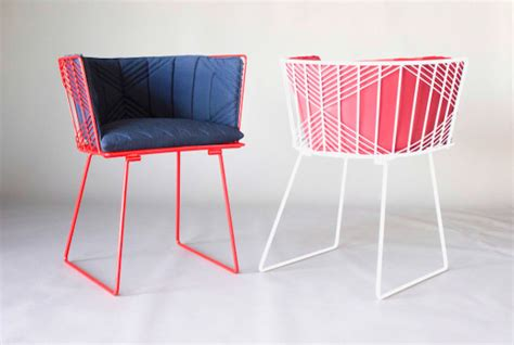 colorful recliners colorful wire furniture 11 fubiz media
