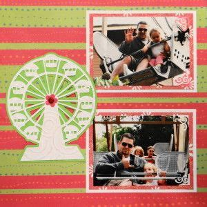 scrapbook layout ferris wheel 18 best cartridge carousel images on pinterest carousel