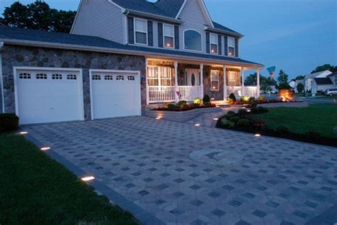 driveway lights home depot 8 ways to upgrade your home driveway the home depot