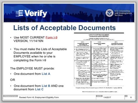 Documents Needed For I9