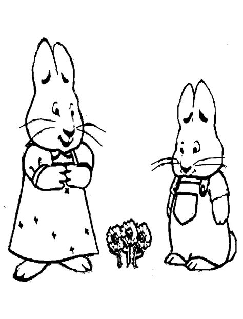 max and ruby coloring pages games free printable max and ruby coloring pages for kids