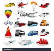 Vector Set Transport Stock 87222643  Shutterstock