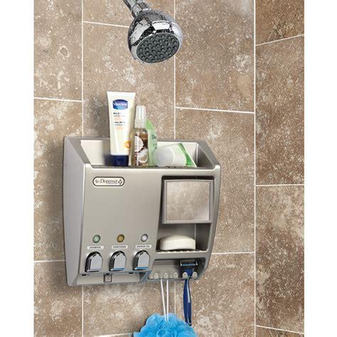 Dispenser Sabun Shoo wall mounted soap dispenser bathroom shower dispenser soap shoo liquid dispensers 2x wall