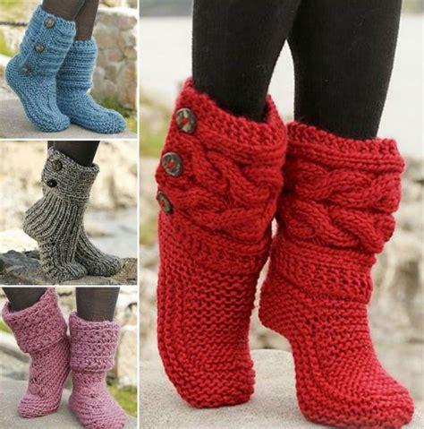pantuflas hechas a mano zapatos deportivos para damas m 225 s de 25 ideas fant 225 sticas sobre botas tejidas para dama