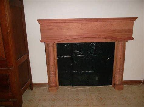 custom made wooden fireplace mantels