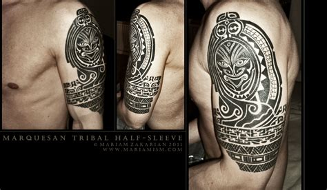 half sleeve tribal tattoo tribal tattoos www imgkid the image kid