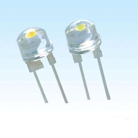 ultra bright white led light diode strawhat 5mm l beads