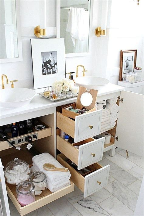 how to organize bathroom vanity best 25 bathroom vanity storage ideas on pinterest