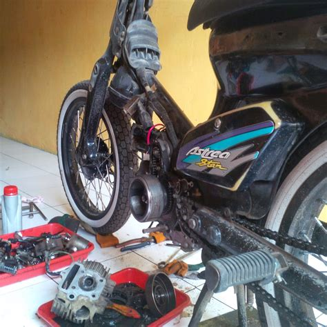 Bengkel Motor Bandung bengkel modifikasi motor choppy cub murah bandung
