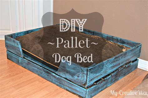 dog bed made out of pallets my creative way diy pallet dog bed for free